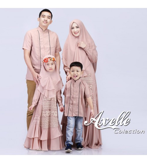 Model Baju Lebaran Sarimbit Keluarga Gambar Islami