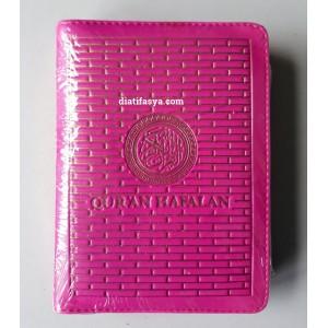 Al Quran Hafalan Resleting A6 PINK