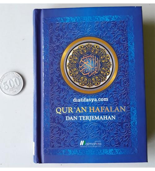 Al Quran Hafalan & Terjemahan A6 Biru