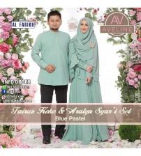 Baju Muslim Syar'i Set Aralyn dan Fairuz