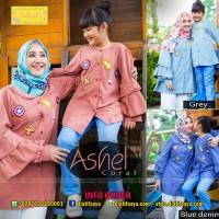 Baju Muslim Couple Ibu dan Anak Perempuan Ashel