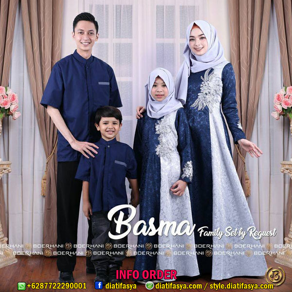 Harga Jual Busana Muslim Keluarga Untuk Lebaran Baju Lebaran
