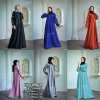 Dress Muslimah Simple Corrine