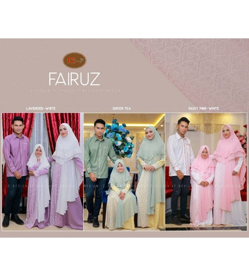 FAIRUZ Couple by IZ Design