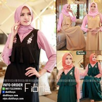 Dress Set Kemeja Fiona