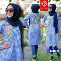 Atasan Baju Muslim Tunik Flowly