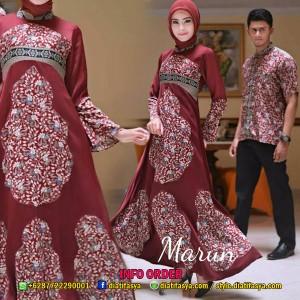 Gamis Batik Couple Hanan & Haneen