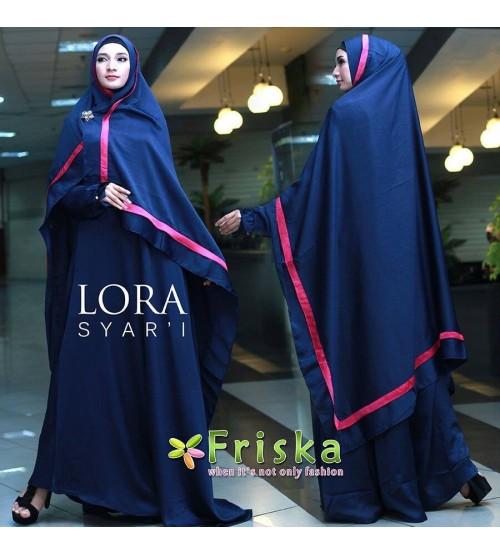 Lora syar'i by Friska