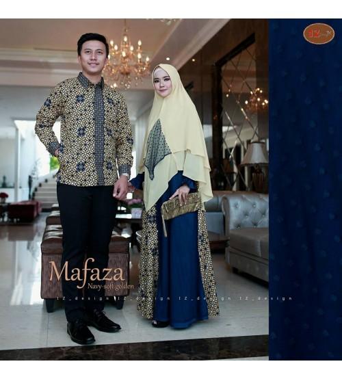 Mafaza Couple by IZ Design Gamis batik couple terbaru 2018 sebagai ... 7cd0805a86