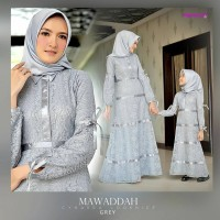 Gamis Brokat Mawaddah Couple by Cynarra