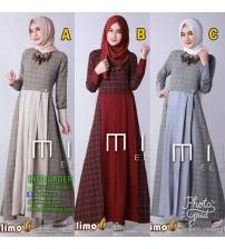 Dress Muslim Simple Minel