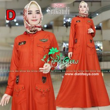 Gamis Simple New Srikandi by Be Glow