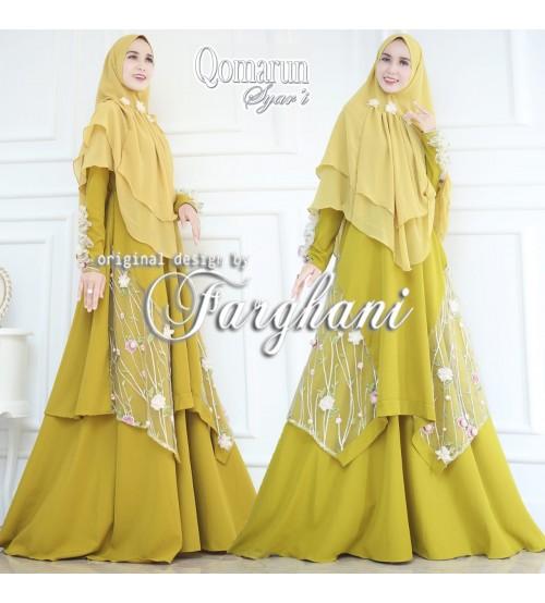 16 Top Terbaru Model Gamis Syari Farghani