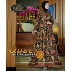 QUEEN dress batik VOL2 by QUEENZY
