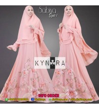 Dress Syar'i Set Khimar Sabiya