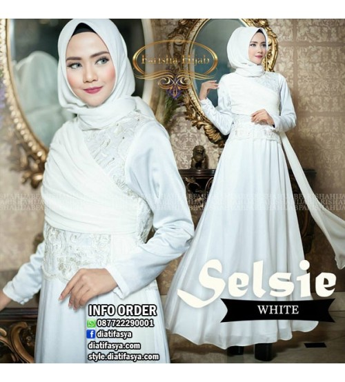 Dress Pesta Muslimah Selsie