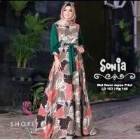 Gamis Motif Sonia by Shofiya