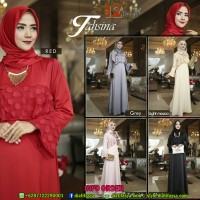 Dress Muslimah Simple Elegan - TAHSINA