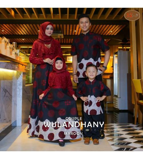 Baju Pesta Muslim Batik Keluarga Lebaran 2018 Wulandhany Couple ... f698db2133