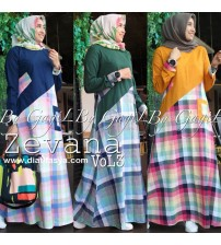 Gamis Simple Zevana Vol 3 by Gagil