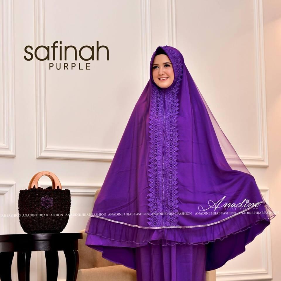 Mukena Zorinazta By Iz Design Model Terbaru 2018 Untuk Helena Safinah
