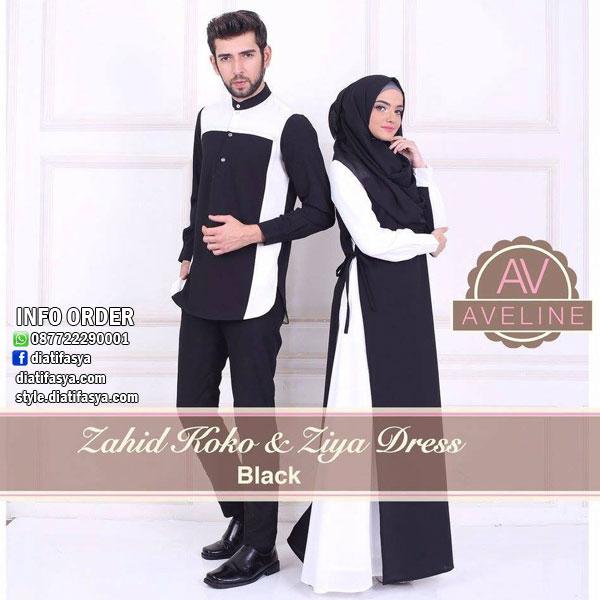 Bagi Muslimah Yang Ingin Tampil Serasi Dengan Pasangan Model Baju Muslim Couple Tersebut Bisa Dijadikan Pilihan Terbaik