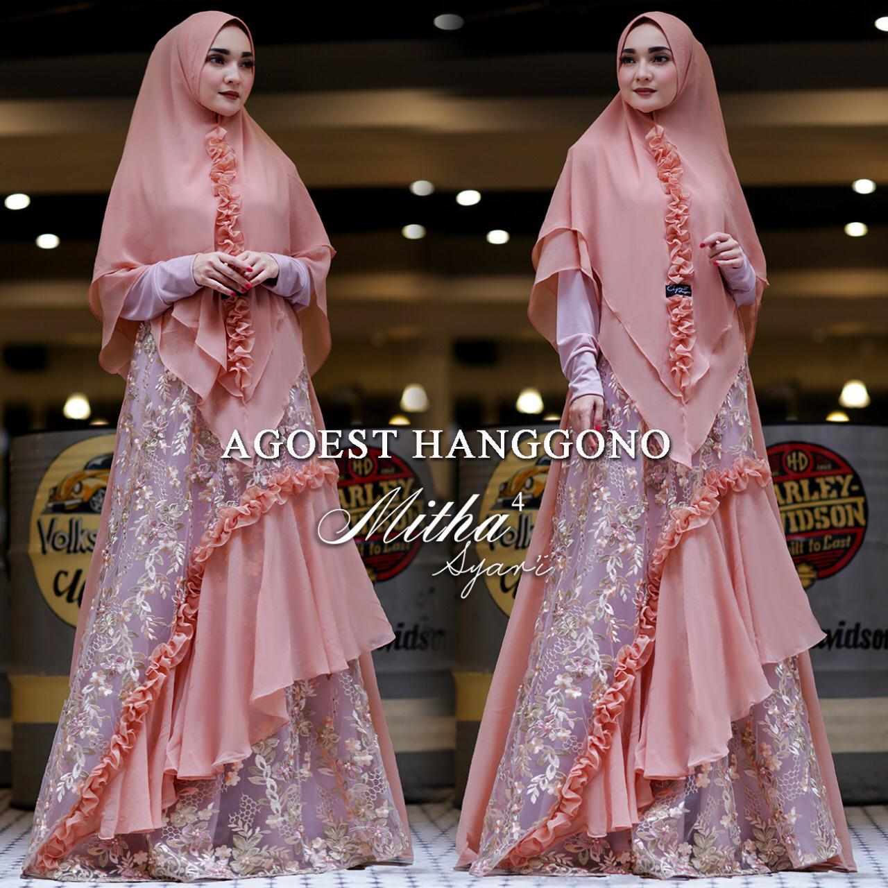 Trend Baju Gamis Terbaru 2019 2020 Elegan Modern Syari
