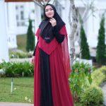 dress pesta syari 2019 2020