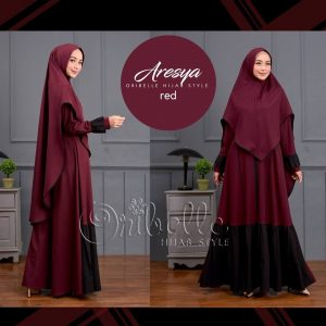 dress syari 2019 set oribelle hijab