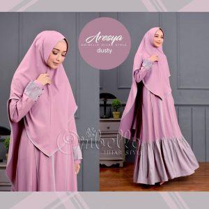 gamis aresya oribelle hijab