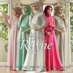 gamis pesta simple 2019
