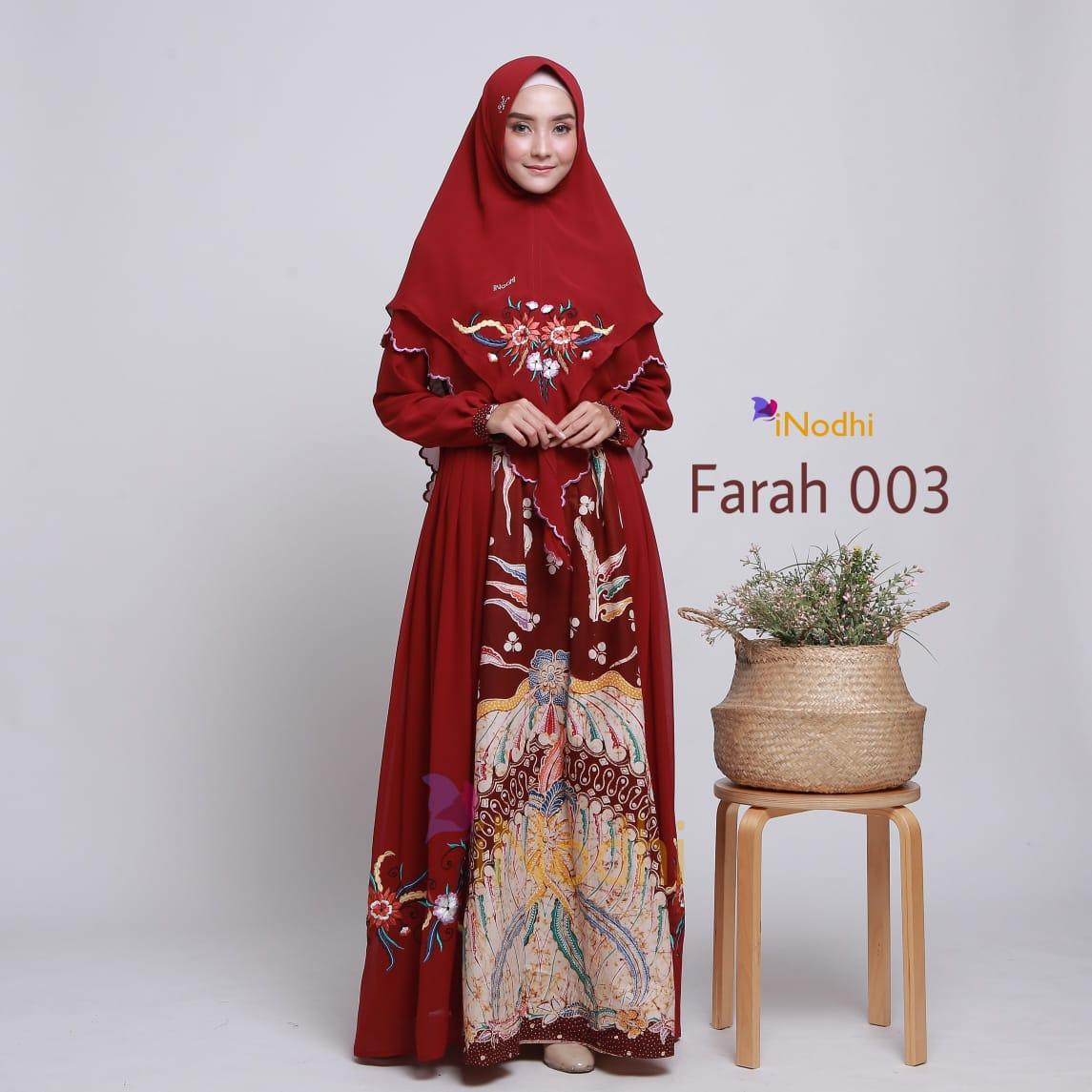 Baju Gamis Batik Modern Terbaru 2019 2020 Sarimbitan Elegan