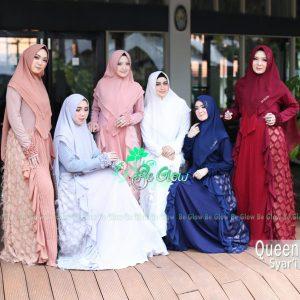 Trend Baju Gamis Lebaran Idul Adha 2019 2020 Syari Queen Butik Muslimah Online Jual Baju Gamis Branded Syari Terbaru
