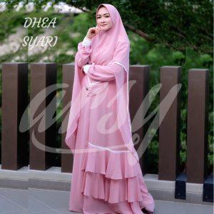gamis polos dhea syari vol 2 by arsy hijab