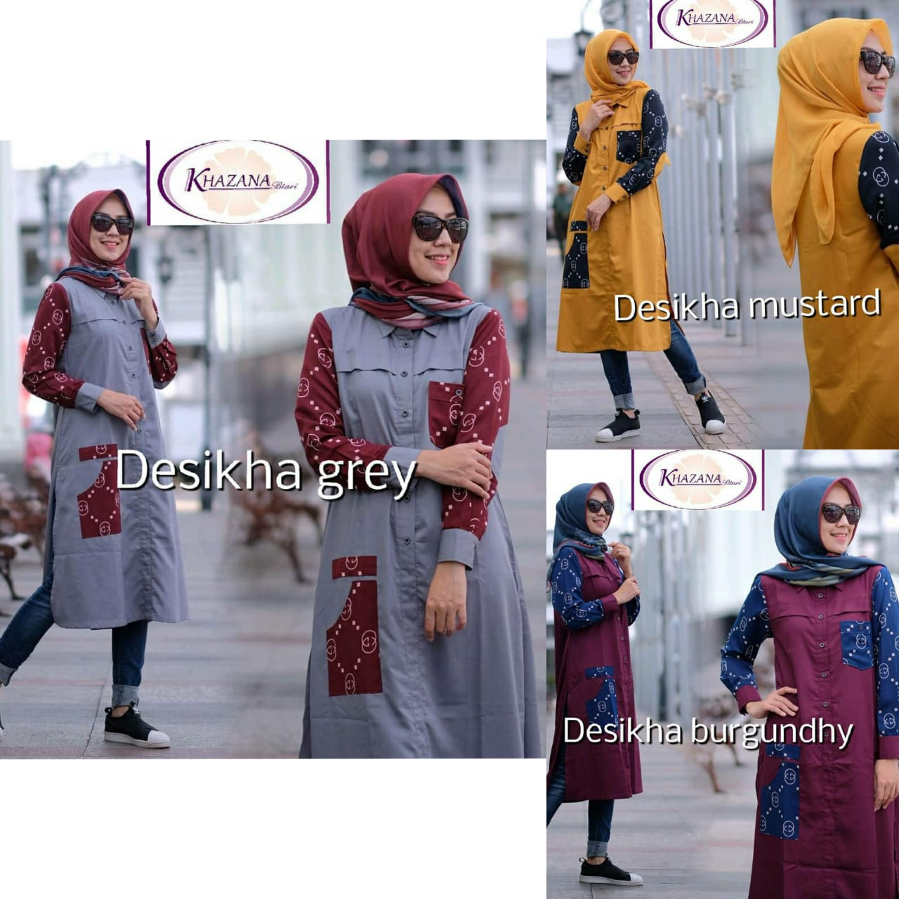 long tunik terbaru