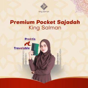 sajadah travel pocket premium