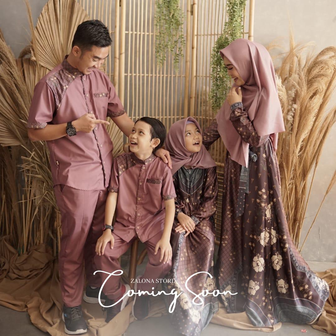 gamis couple keluarga terbaru 2021