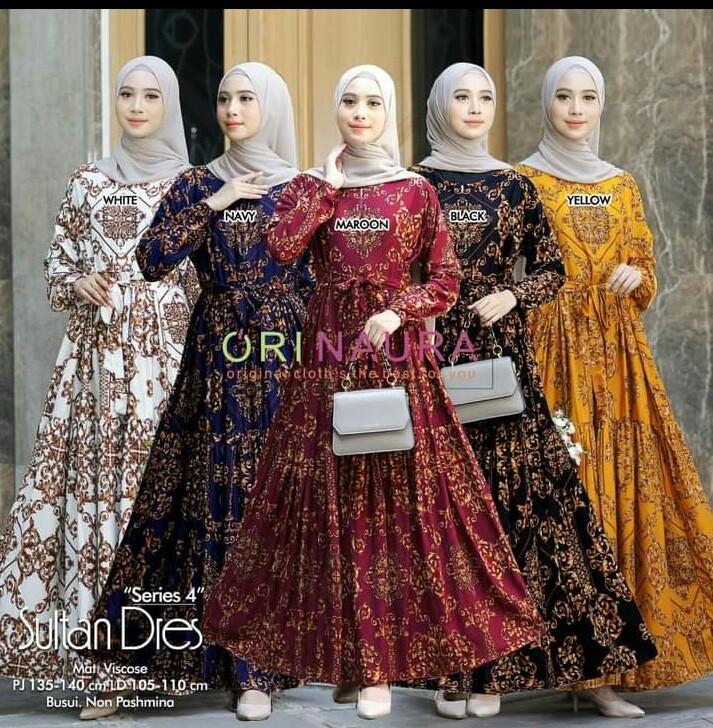 model gamis sultan terbaru
