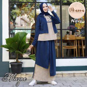 setelan atasan bawahan rok hijab 2021