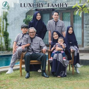 baju keluarga muslim terbaru 2021 lebaran