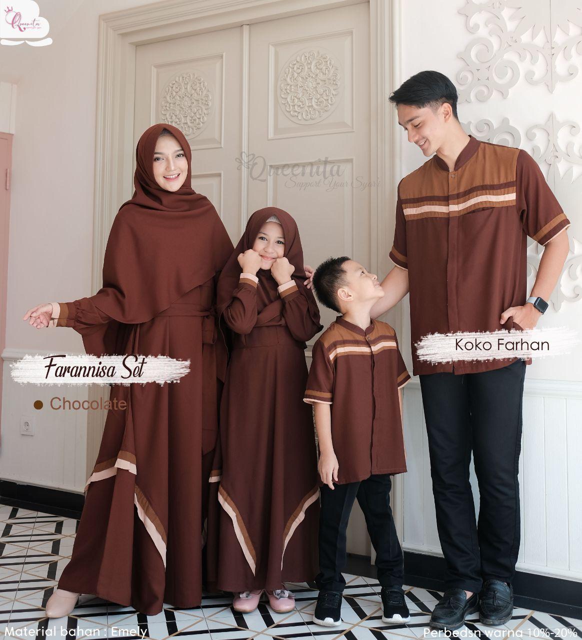 baju muslim keluarga terbaru 2021 lebaran