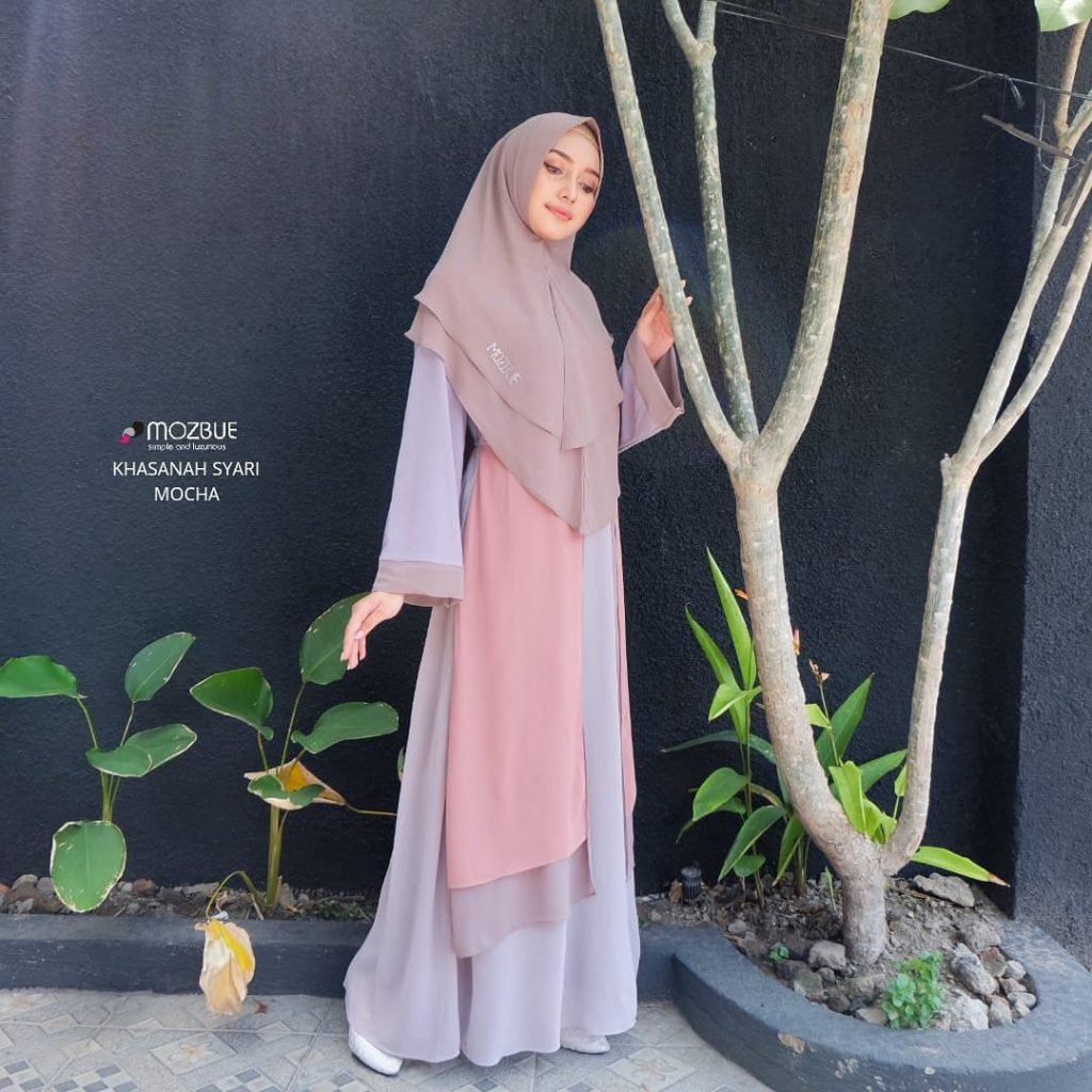 baju muslim syari terbaru 2021