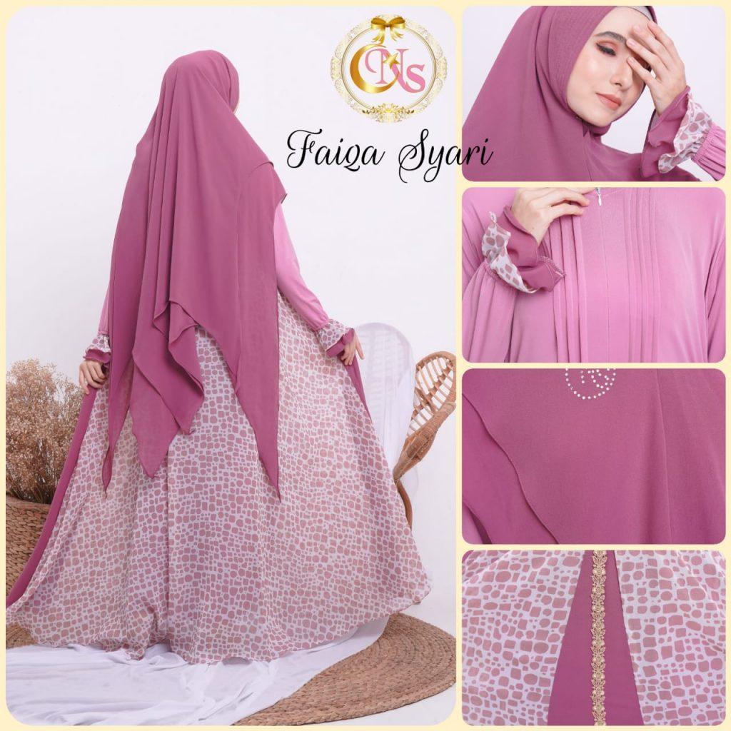 baju muslimah syari terbaru 2021