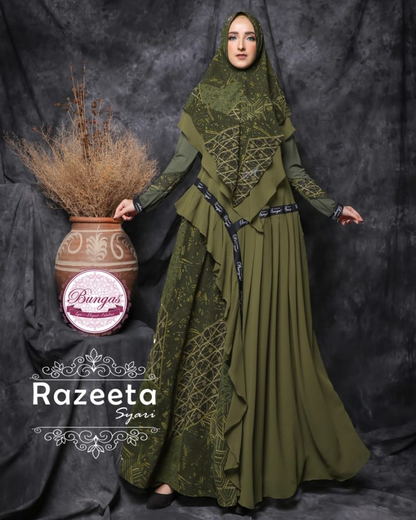 baju muslimah terbaru 2021