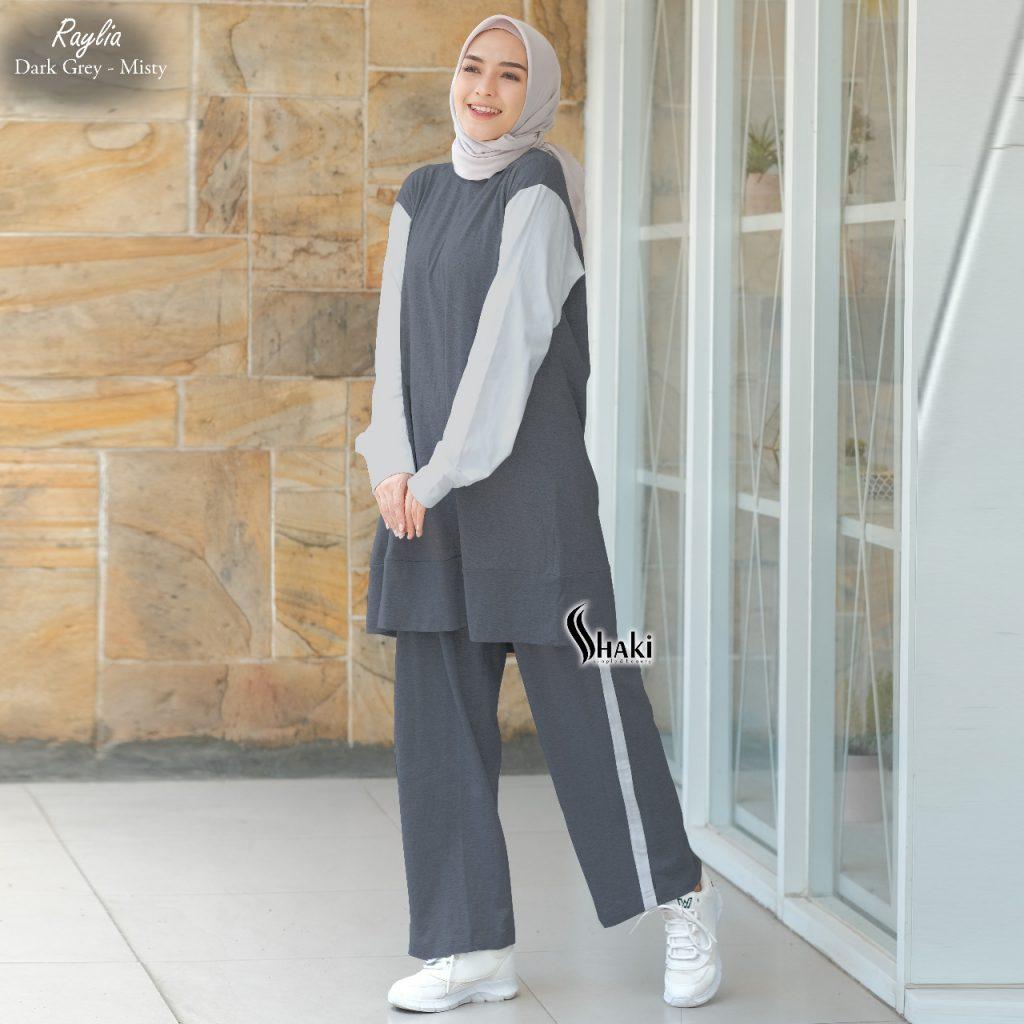baju olahraga muslimah sporty