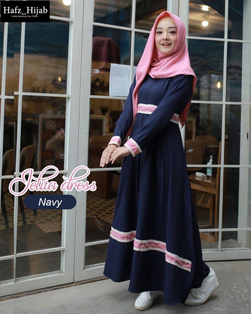 dress muslim elegan 2021
