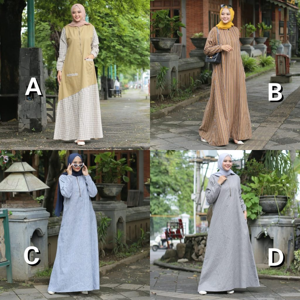 dress muslim simple 2021