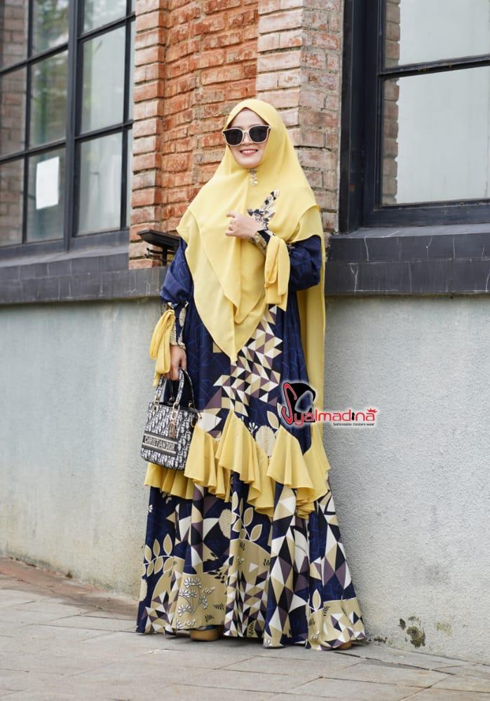 dress muslimah syari terbaru 2021