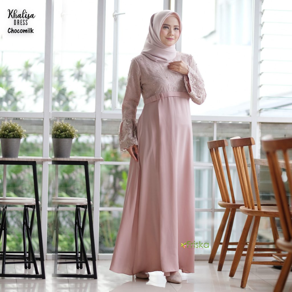 dress pesta muslim