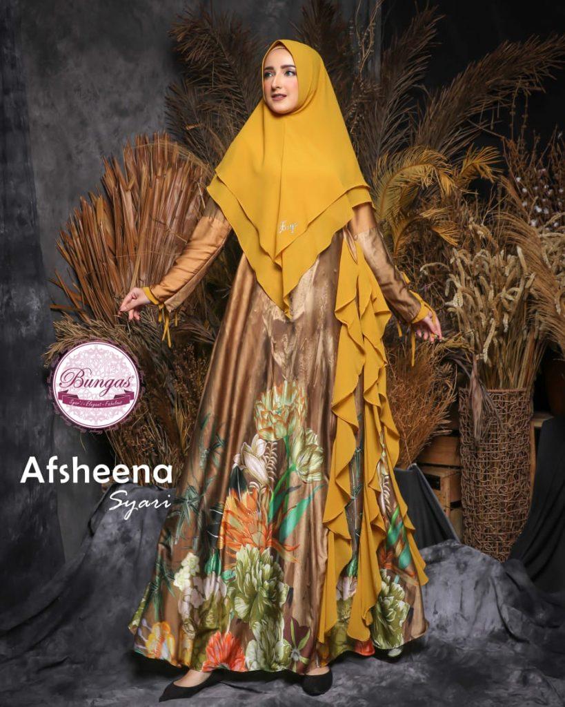 dress syari muslim 2021